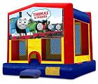 THOMAS THE TRAIN 2 IN 1 JUMPER (basketball hoop included)